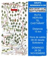"""Ruta de senderismo Hervás """"El Castañar"""""""