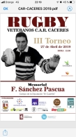 III TORNEO RUGBY VETERANOS C.A.R CÁCERES.