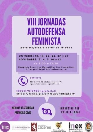 VIII Jornadas de Autodefensa Feminista