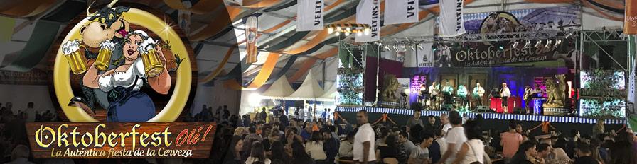 Oktoberfest en la feria de San Fernando