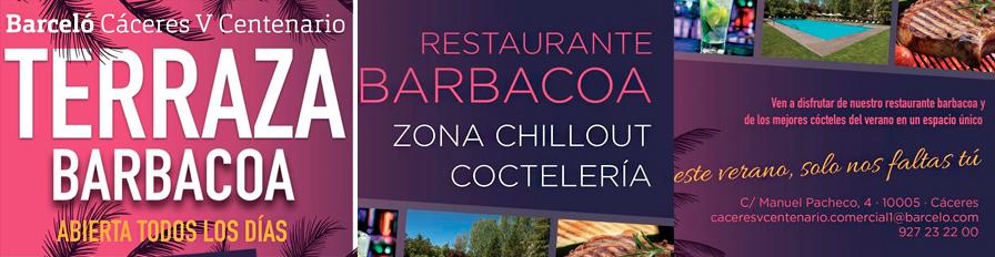 Barbacoa en el Hotel Barceló V Centenario