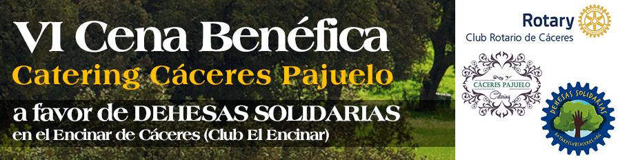 VI Cena Benéfica Dehesas Solidarias