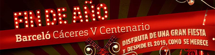 Barceló Cena y Fiesta Fin de Año