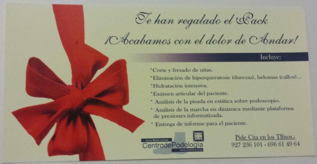 Compañías I Promociones - Centro de Podología Beatriz Martín Lorenzo ...