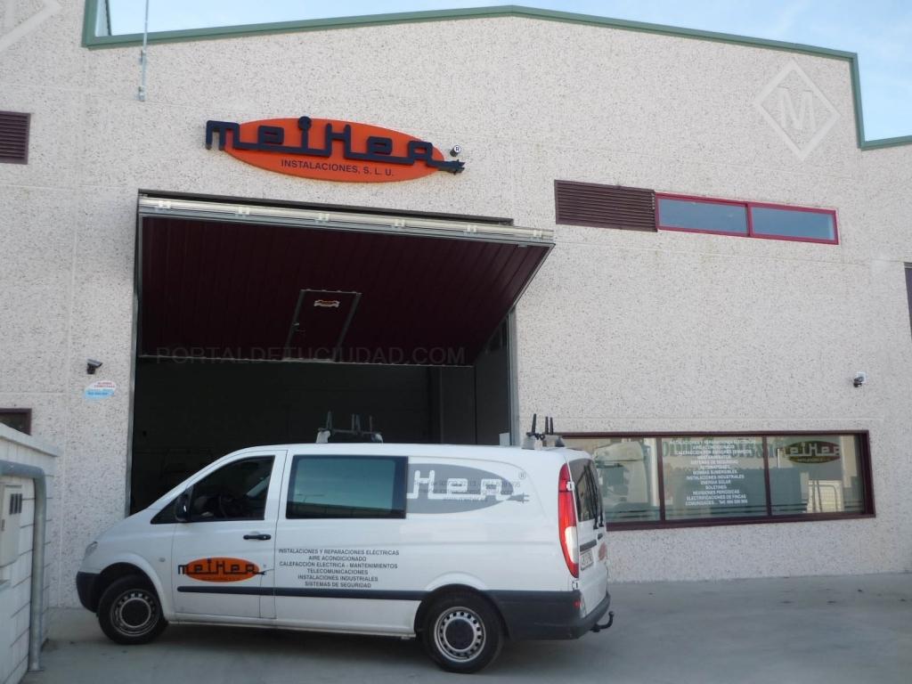 meiHer - Montajes Eléctricos Industriales Hernández