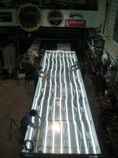 placas luminosas cáceres