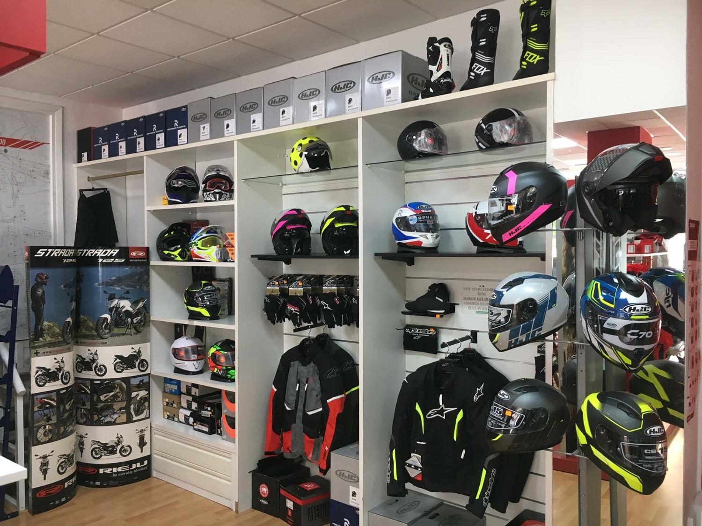 cascos para motocicletas cáceres