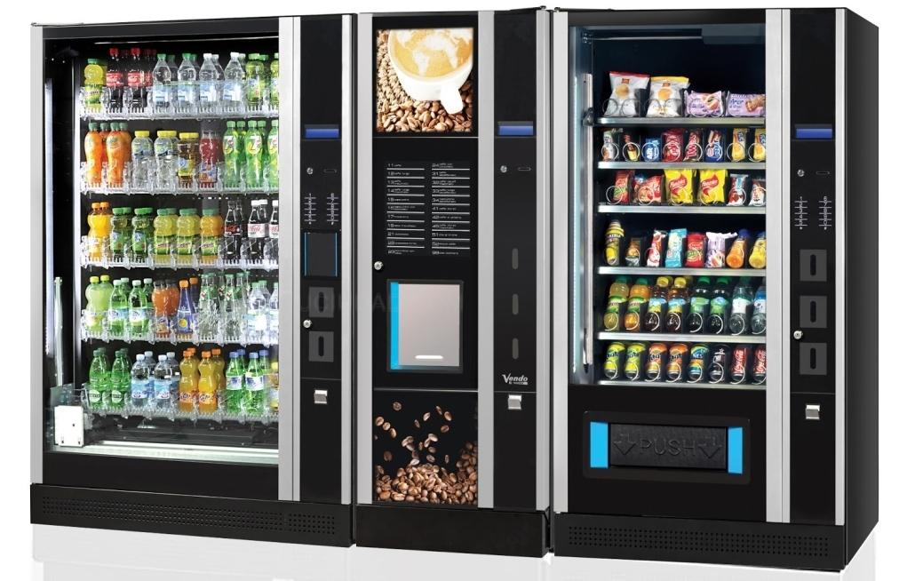 Máquinas de vending: productos poco sanos y envasados en plástio o metal, muy perjudicial para el medioambiente