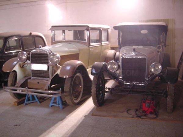 coches antiguos cáceres