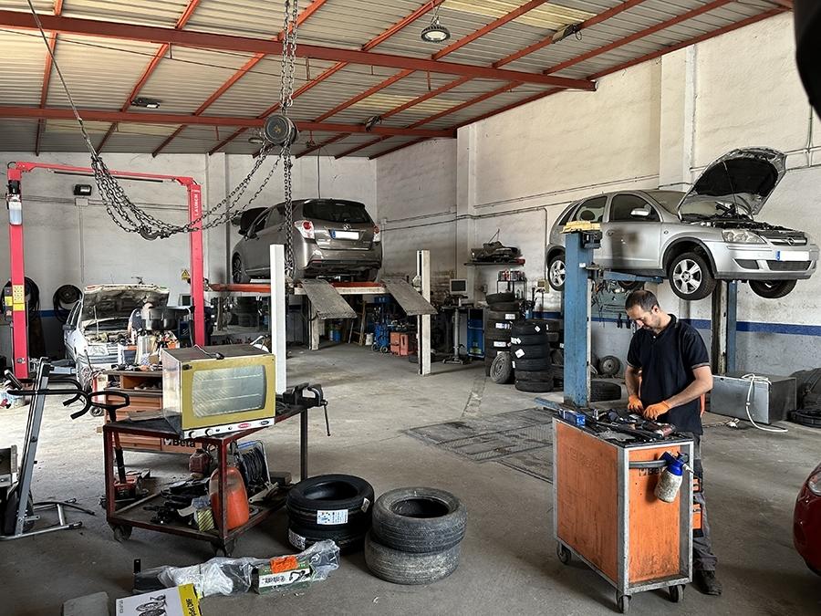 reparación de vehículos cáceres