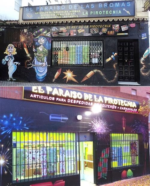 El Paraíso de la Pirotecnia - Petardos, Tracas, Cohetes, Disfraces de Carnaval