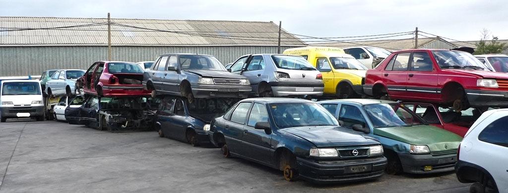 desguaces de vehículos cáceres
