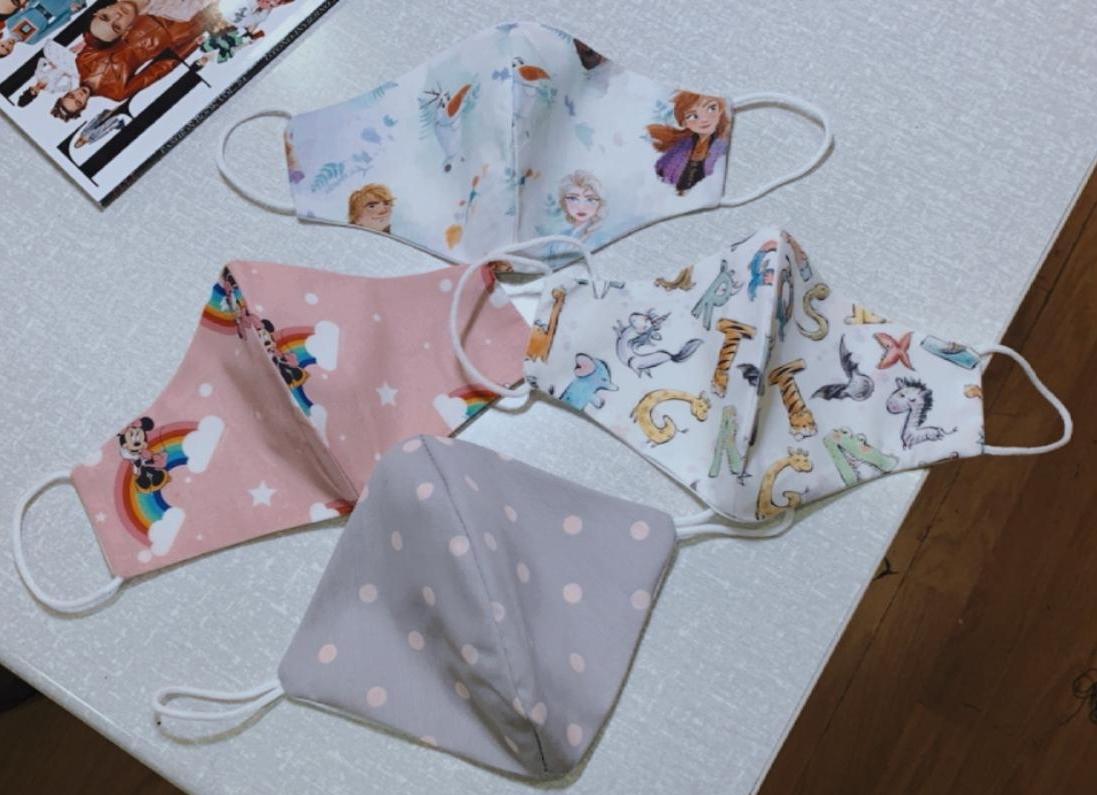 confección y venta de mascarillas lavables de algodón a medida