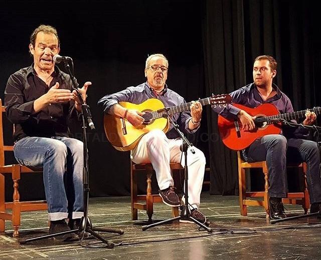 cantaor de flamenco faustino collado cáceres