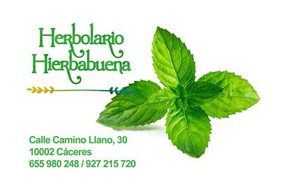 Herbolario Hierbabuena