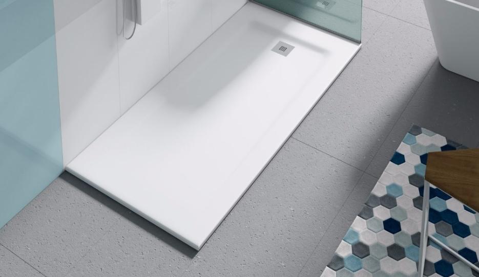 platos de ducha y mamparas de ducha con muebles de baño cáceres