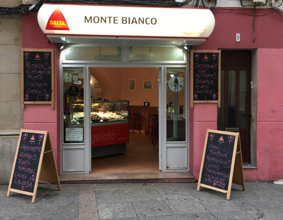 Pastelería Heladería Montebianco