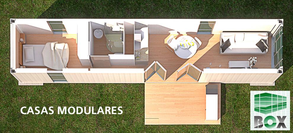 Iaisla casas modulares box corcho proyectado - Mini casas prefabricadas ...