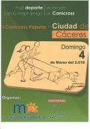 "I CaniCross Popular ""Ciudad de Cáceres."