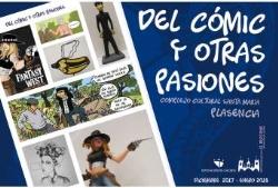"""La exposición """"Del cómic y otras pasiones"""" muestra la comunicación entre lenguajes artísticos"""