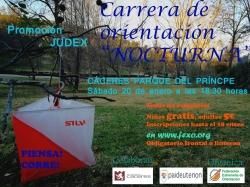 CARRERA DE ORIENTACION NOCTURNA.
