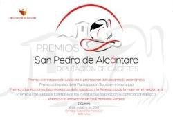 II edición de los Premios a la Innovación en el mundo rural San Pedro de Alcántara, convocados por la Diputación de Cáceres.