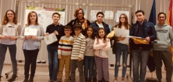 Urbanismo hace entrega de los premios a los doce ganadores del concurso de dibujo 'Aquí vivo yo'