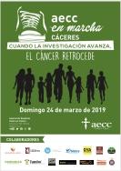 AECC en marcha 2019 Cáceres