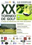 Rotary organiza un torneo solidario de golf en Cáceres