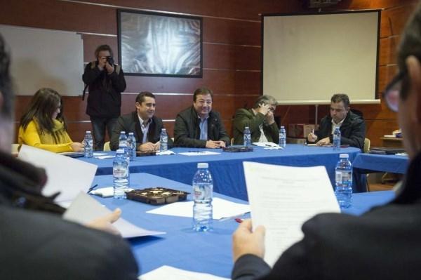 Guillermo Fernández Vara ha destacado la calidad del tabaco en Extremadura y ha mostrado su optimismo de cara a la campaña de 2018.