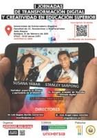 I Jornadas de Transformación Digital y Creatividad en Educación Superior.