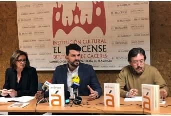 El Complejo Cultural Santa María de Plasencia ha acogido este miércoles la presentación del número 86 de la revista Alcántara, que edita la Diputación