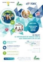 El Instituto de Lenguas Modernas ofrece la posibilidad de realizar el examen internacional TOEIC.
