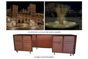 La Diputación acomete obras de mejora, conservación e iluminación en fuentes de Guadalupe.