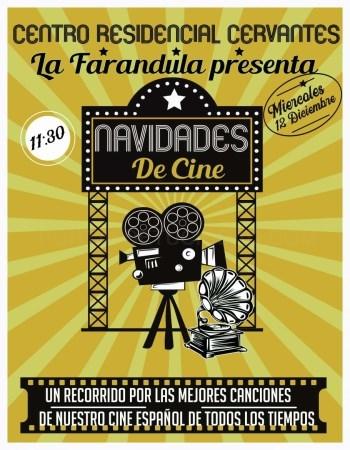 La Residencia Cervantes celebra el Día del Centro con el espectáculo 'Navidades de cine'