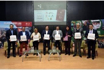 El Geoparque Mundial de la UNESCO Villuercas-Ibores-Jara renueva el convenio de colaboración para la gestión.