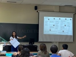 Marta Ormazábal, profesora y doctora por la Universidad de Navarra en Ingeniería Industrial