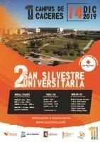 La San Silvestre Universitaria se desarrollará por el campus de Cáceres el sábado 14 de diciembre