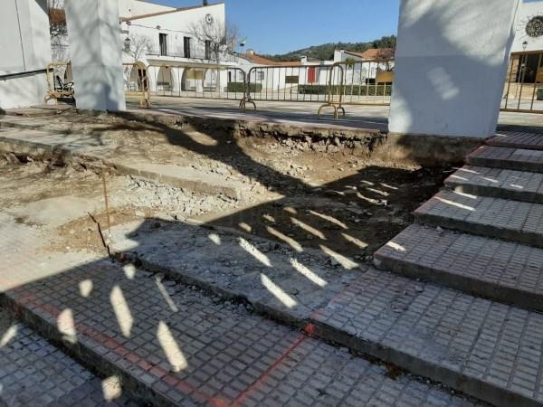 Comienzan las obras de accesibilidad en Rincón de Ballesteros