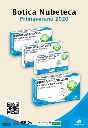 Botica Nubeteca ofrece cincuenta y dos nuevos títulos en formato digital