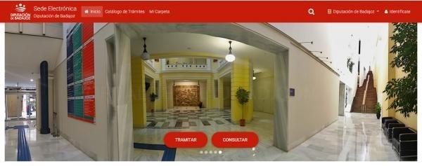 La Diputación de Badajoz habilita la tramitación electrónica para la admisión a pruebas selectivas