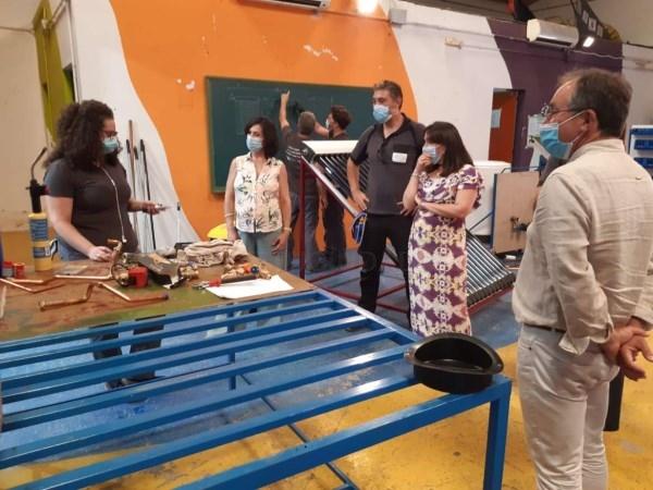 Esther Gutiérrez destaca la oportunidad formativa de las Escuelas Profesionales
