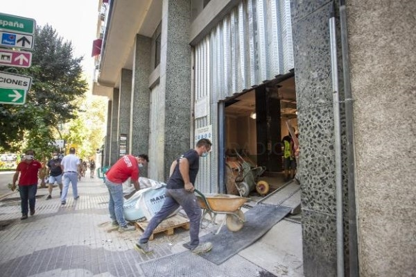 El gimnasio del Coliseum, en Cáceres, prepara su apertura para el 1 de septiembre