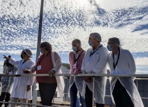 Begoña García destaca la capacidad de liderazgo del sector tomatero extremeño