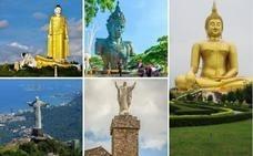 El Buda de Cáceres y Moisés bajando de La Montaña
