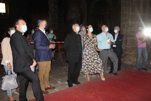 La Junta de Extremadura y la Diócesis de Plasencia acuerdan el inicio de la rehabilitación de la Iglesia de San Martín