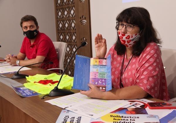 Almendralejo acogerá este año la campaña visual 'Dona médula, dona vida' entre los días 28 de septiembre y 11 de octubre