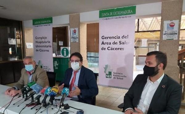 El SES convertirá el hospital Virgen de la Montaña de Cáceres en un macrocentro de salud