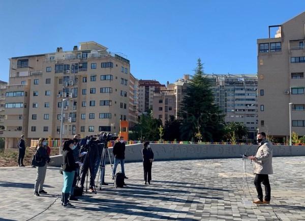 Abierta la ampliación del Parque del Príncipe que suma 80.000 metros más de zonas verdes a la ciudad