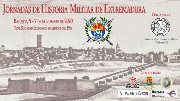 Jornadas de Historia Militar en Extremadura se celebrarán en el mes de noviembre